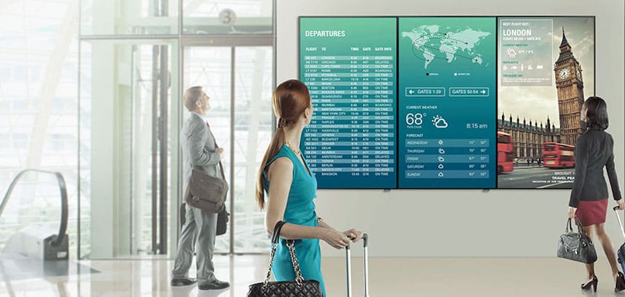 Optimize Commercial Content Display With a High-End LED Video Wall