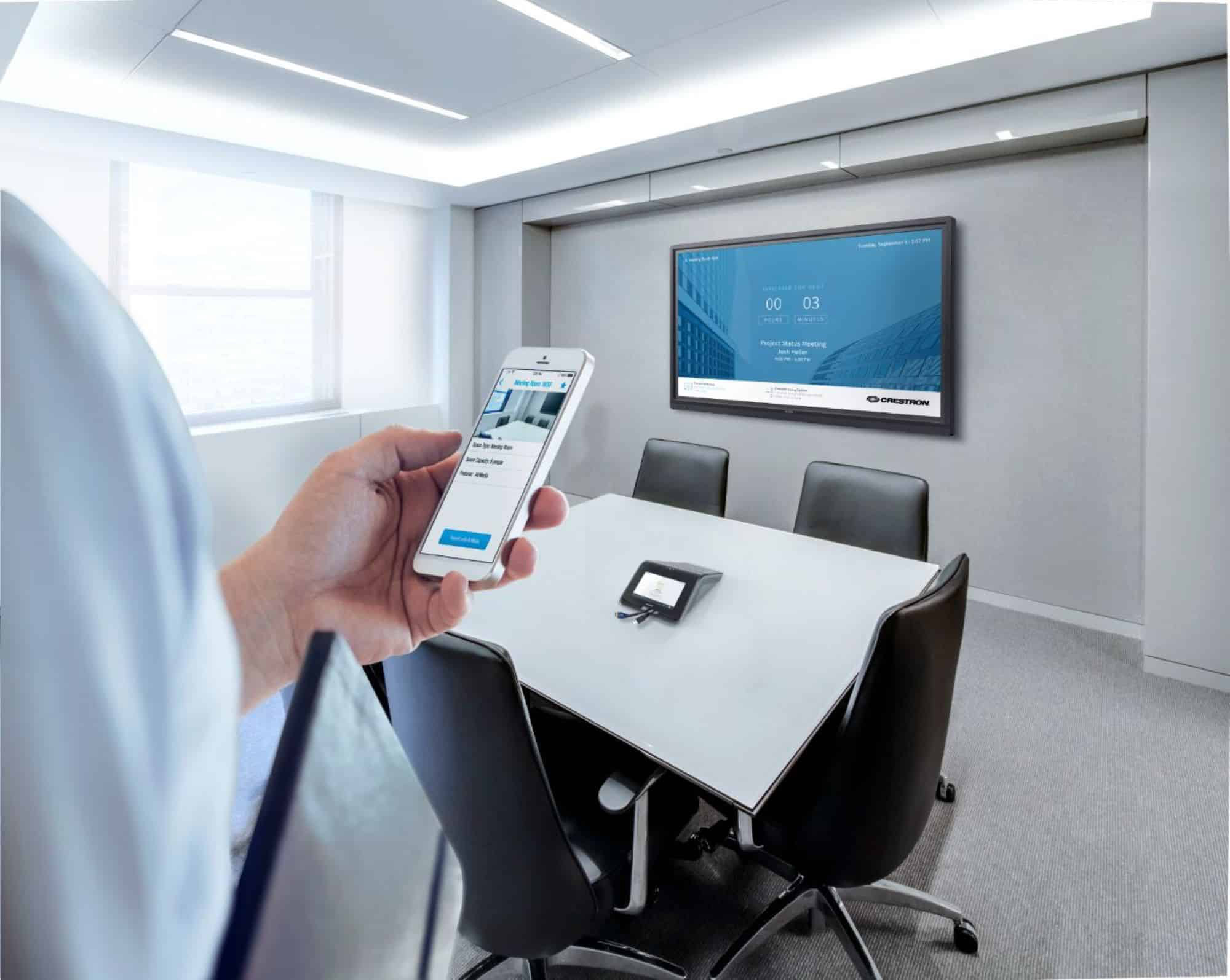 A Hands-Off Approach: Tools for Creating Touchless Meeting Spaces