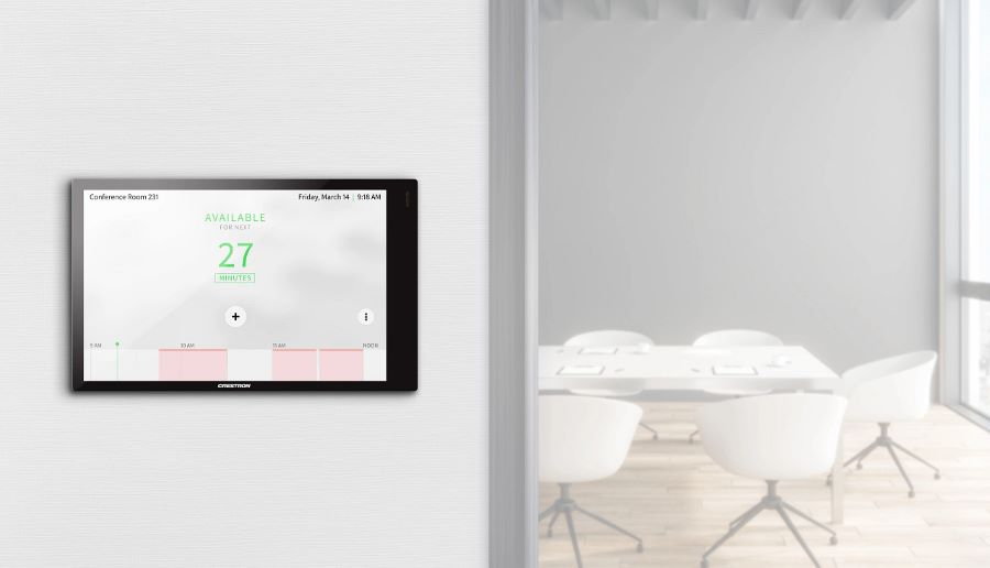 Successful Meetings Start with Crestron Conference Room Scheduling
